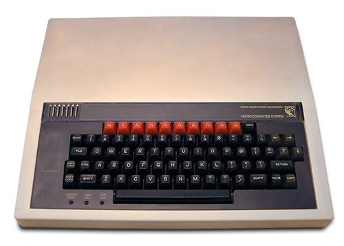 Retro Computer Friday! - The BBC Micro! First introduced in 1981, this baby came with 16K and plenty of expansion ports. You could even hook up a Laserdisc for storage, if you were so inclined.    Apparently James Cameron used one of these puppies to generate the text on the soldier's cam display in Aliens.