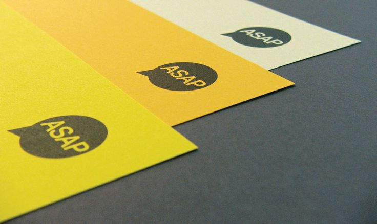 ASAP Digital, Sheffield, Stationery Detail