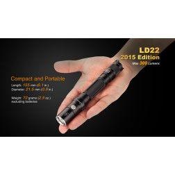 Fenix LD22 (300 ANSI Lumens AA Battery)