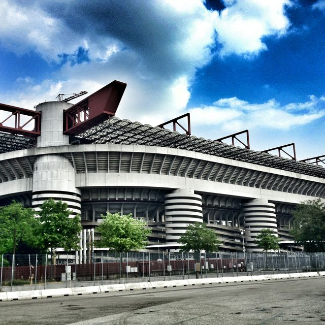 San Siro Stadium, Milan, Italy I went the 2001 Champions league final between Bayern Munich and Valencia