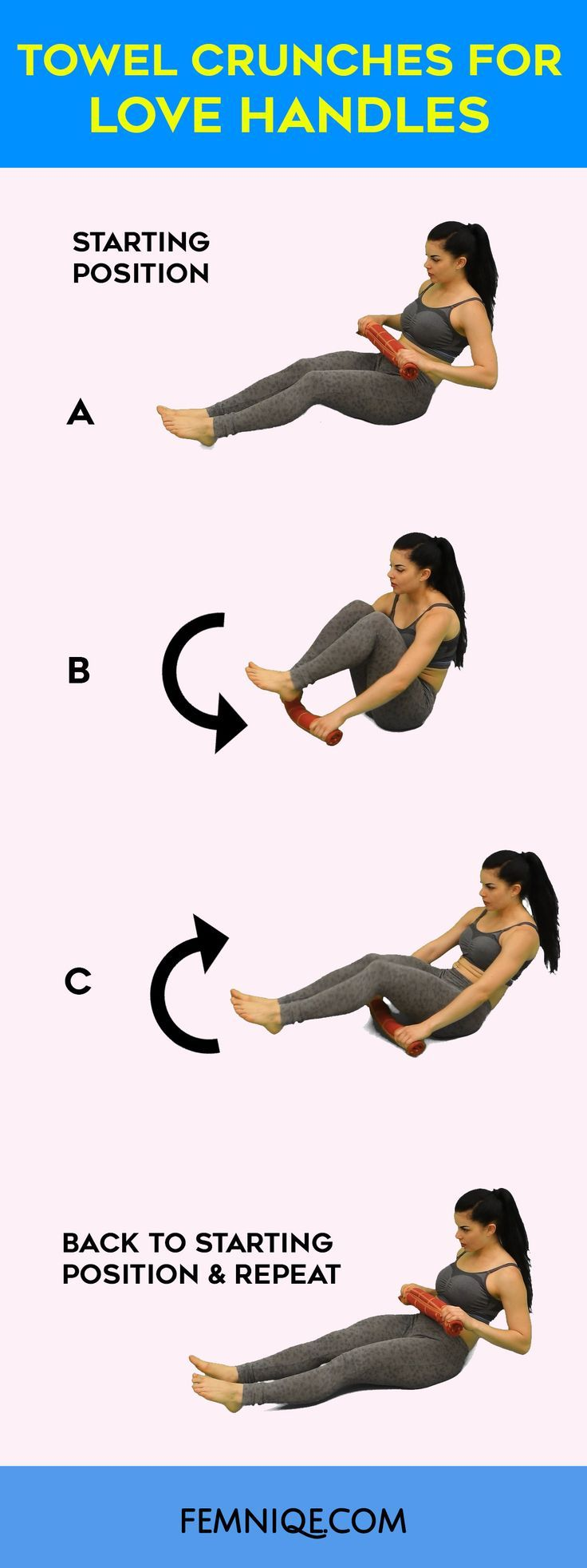 nice 2 Killer Exercise to get rid of love handles | Love handle workout | How to get ...