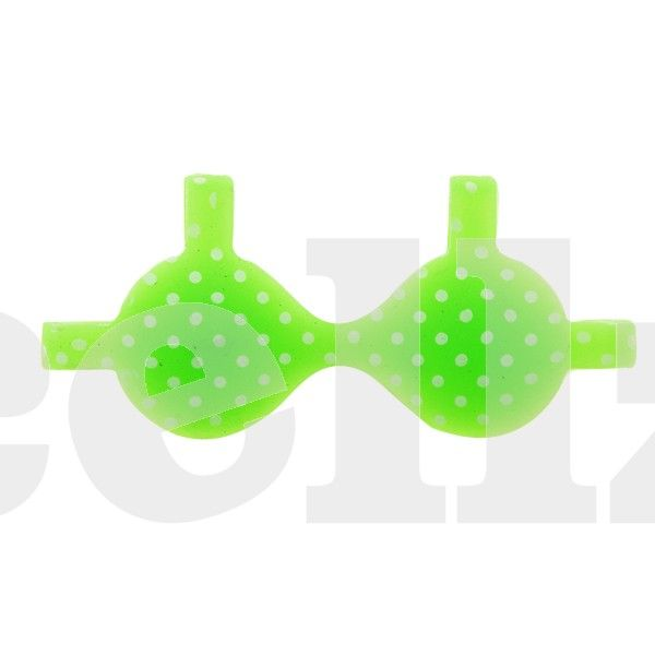 Silicone Phone Brassiere - Green Girly Bra #silicone #smartphone #girly #green #cellz.com $2.76