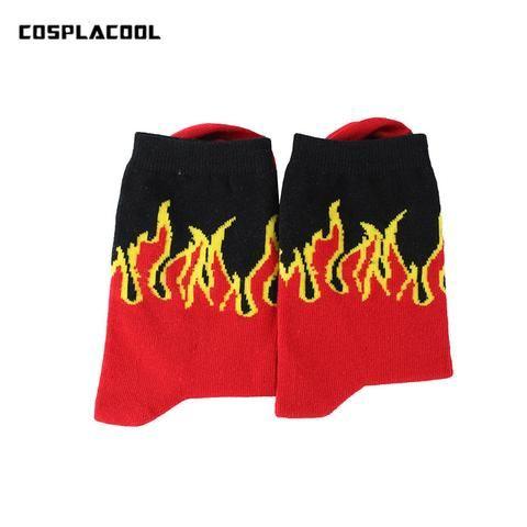 Popular Brand Fashion Men Socks Harajuku Hip Hop Street Skateboard Socks For Male Long Happy Socks Meias Casual Cotton Crew Socks Calcetines Underwear & Sleepwears