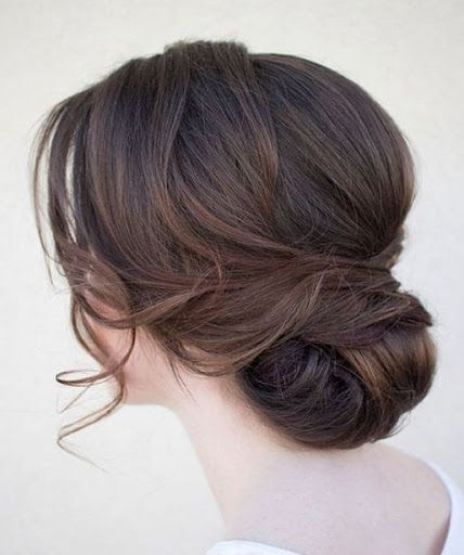 Peachy 25 Best Ideas About Low Bun Hairstyles On Pinterest Low Updo Hairstyle Inspiration Daily Dogsangcom