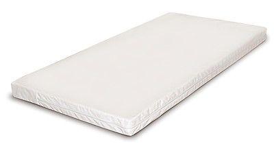 BABY-COT-BED-MATTRESS-HUB-140cm-x-70cm-FOAM-BUCKWHEAT-SPRUNG-BEST-VALUE