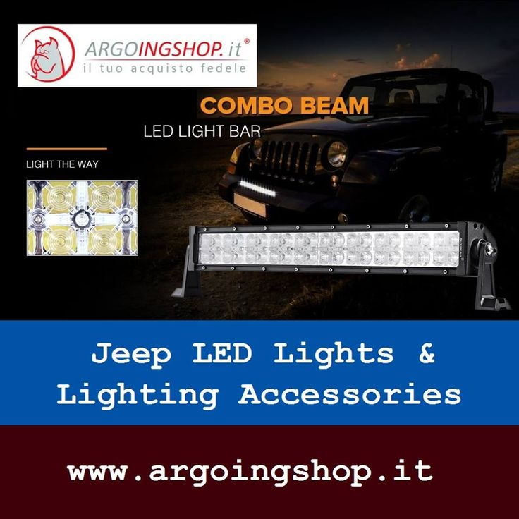 ✔ Jeep LED Combo Beam Light Bar  🚍 The ArgoingShop offers light bars, flood LED light bar, LED driving lights, headlights, tail lights, fog lights & lighting accessories for all Jeep vehicles in Italy & Europe Market.  ✔ Visit Shop Here: www.argoingshop.it  . . . . . . #LEDLights #LED #Jeep #SpotLightBars #LightBar #LEDLightBar #Headlights #TailLights #FogLights #ArgoingShop #Italy #Europe