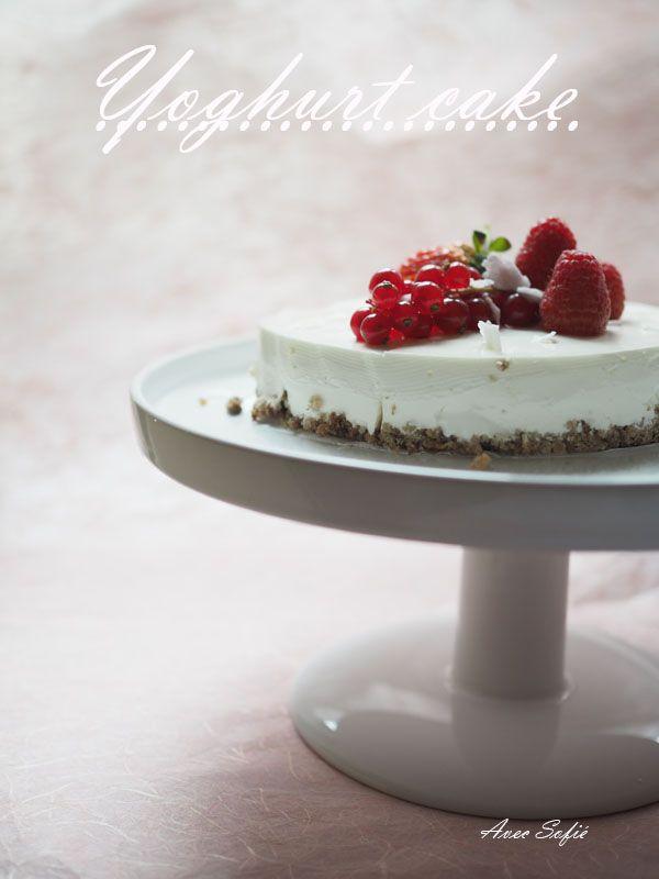 Jogurttikakku - Yoghurt cake