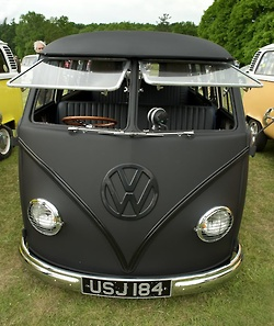 Kombi Matt Black