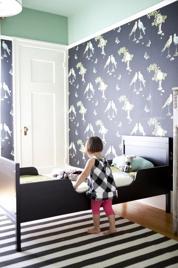 Lovely children's room. (From Emily Meyer @Tea Collection founder interview)