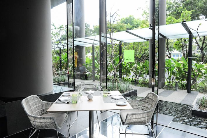 Lime Restaurant at Park Royal near Clark Quay. Lunch buffet at 5 star hotel $45 mon - fri. noon to 2:30