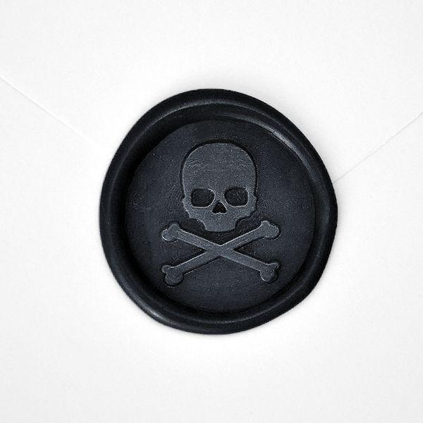 Wax Seal - Skull