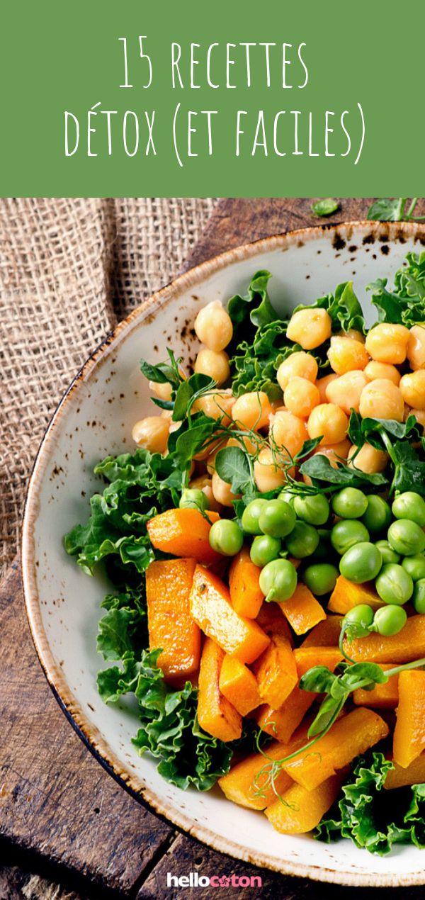 15 recettes détox pour manger plus léger !