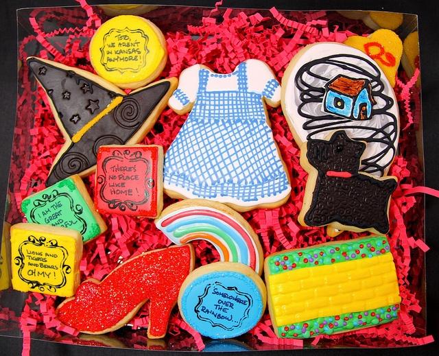 Wizard Of Oz Cookie Set by Sweet Hope Cookies, via Flickr