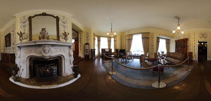 Kylemore Abbey's Drawing Room - Ireland  By Rubens Cardia