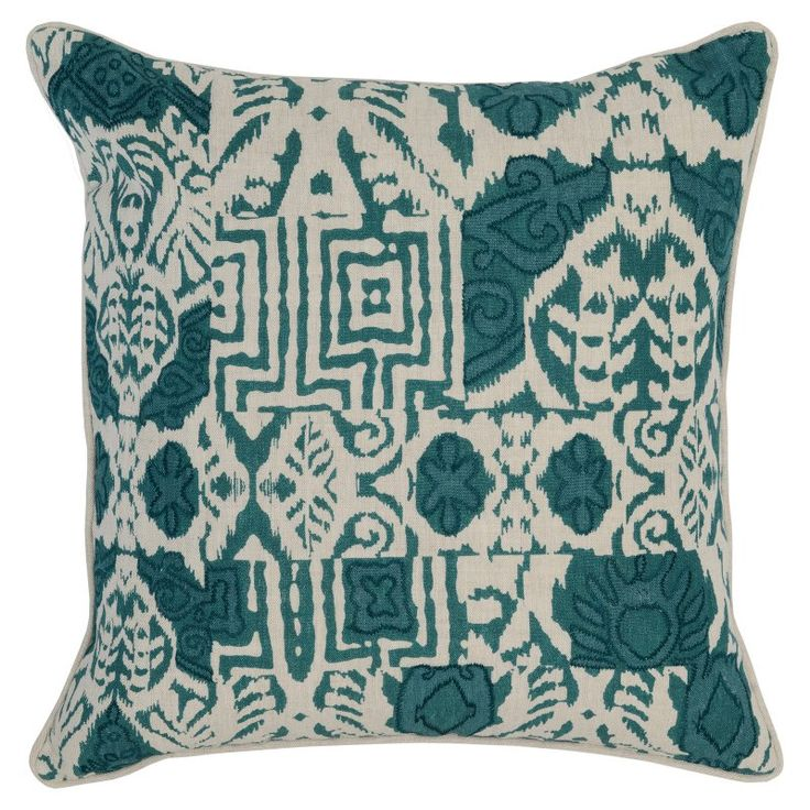 Kosas Home Davao Throw Pillow Green   V121025