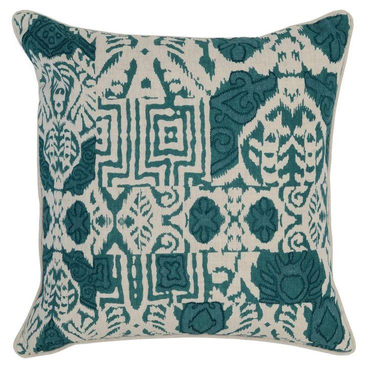 Kosas Home Davao Throw Pillow Green - V121025