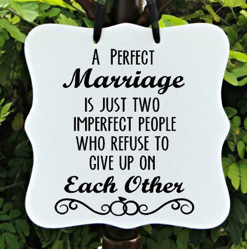 Hey, I found this really awesome Etsy listing at https://www.etsy.com/listing/219581291/a-perfect-marriage-sign-wedding-sign