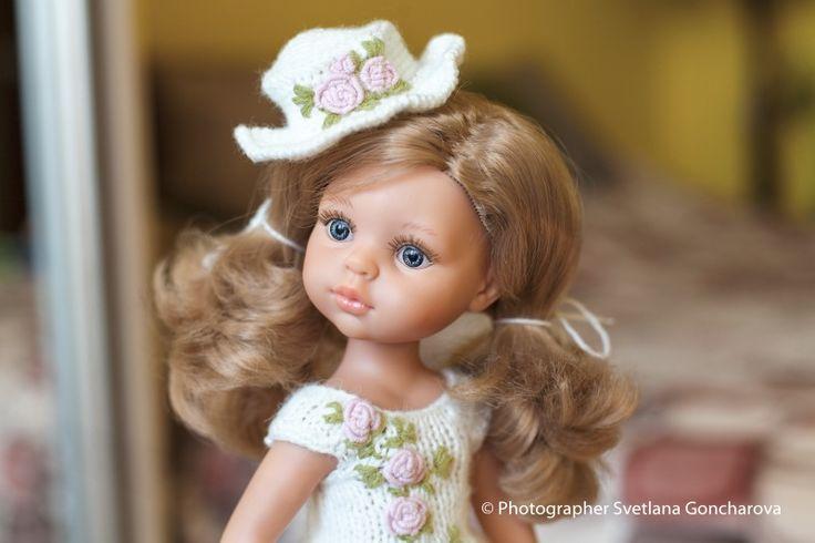 Предлагаю платье «Барокко» для Paola Reina Нежное, воздушно-милое платьице изготовлено из нежного хлопка / 900р