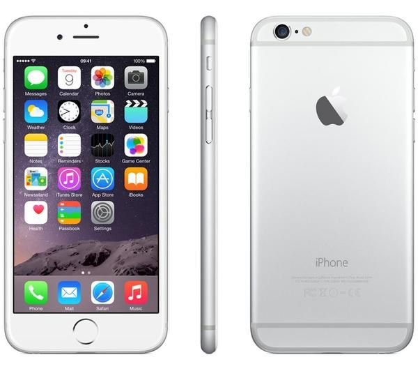 Apple iPhone 6 - 16GB - 3G 4G LTE Unlocked SIM Free Smartphone Silver Sellers Refurbished Grade A