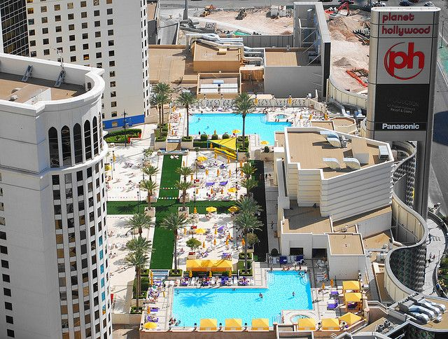 Planet Hollywood Pool Las Vegas | photo ~ We'll be spending some time here. ;)