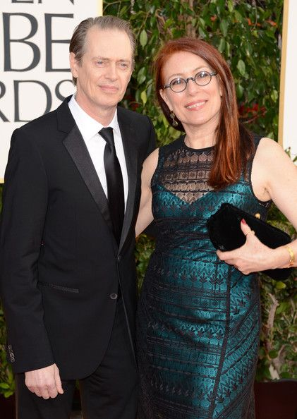 Steve Buscemi, Jo Andres at 70th Annual Golden Globes