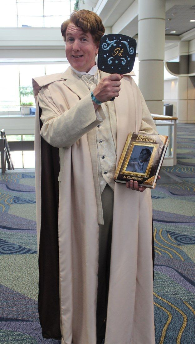 Gilderoy Lockhart from Harry Potter | 36 Delightfully Geeky Cosplays From LeakyCon