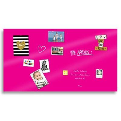 Markerboard / Magnettafel / Whiteboard aus Acrylglas in verschiedenen Farben | inkl. Boardmarker und 10 Supermagneten | 200x120 cm