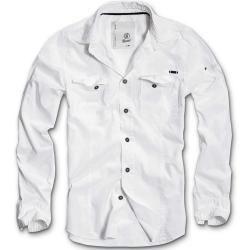 Brandit SlimFit Shirt Weiss L Brandit