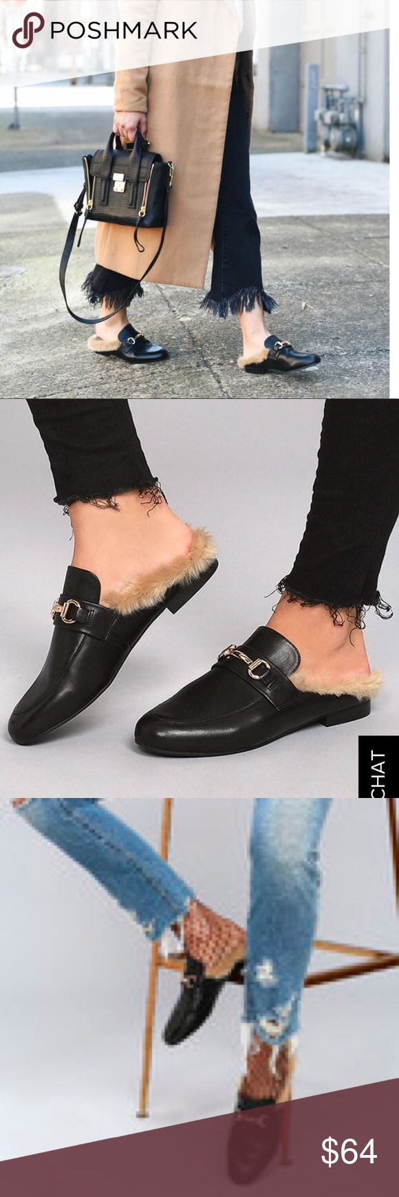 Steve Madden Women's Jill Loafers Slip Ons Lightly used Loafers by Steve Madden!! Still has a lot more to offer! This elegant loafer-mule silhouette with faux fur-lined interior, JILL epitomizes luxury. Offers are welcomed😊 Steve Madden Shoes Flats & Loafers