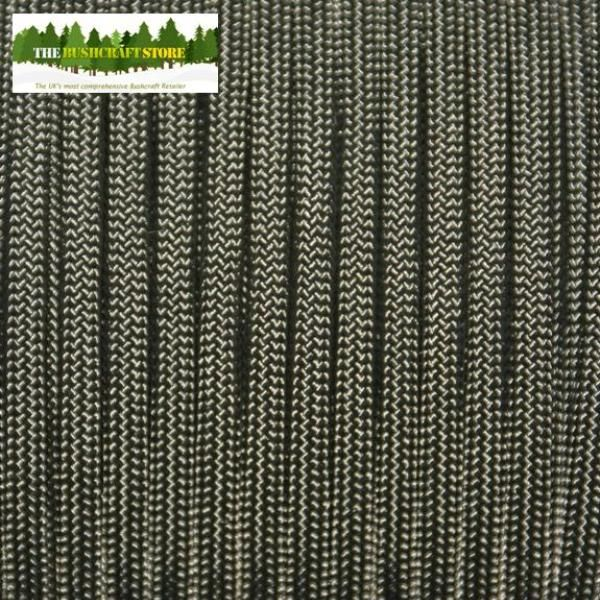 The Bushcraft Store - The UK s leader in 550 Paracord 550lb breaking strain Olive Green Paracord This is made by a Certified US Government Contractor