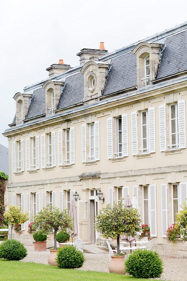 Stunning French Chateau wedding | Image by Lauren Michelle Photography