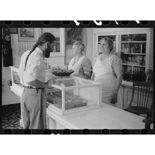 Image detail for -... photo bakery shop at house of david benton harbor michigan 1940
