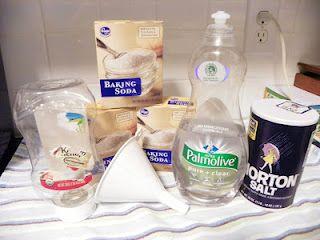 Kristen's DIY bathroom cleaner