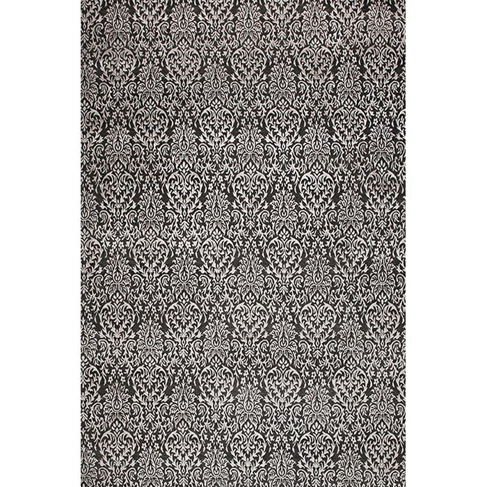 Черно-белый ковер Маэ Mahe Dark #vintage #carpets #rug #ковер #designer #interior #marqis