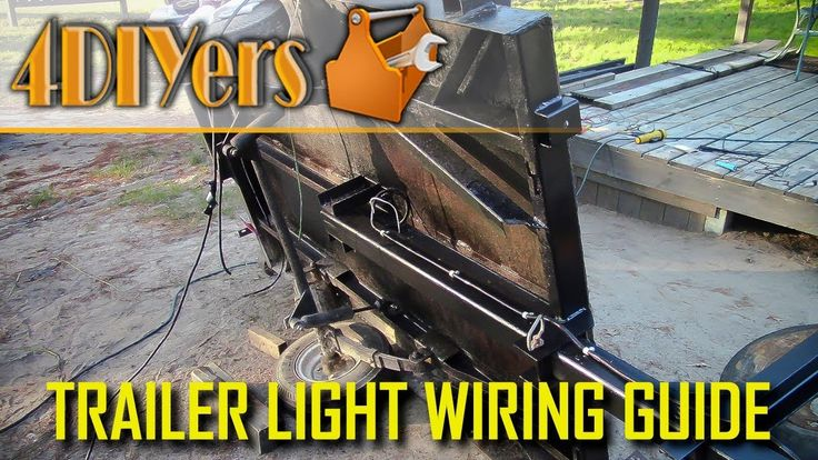 How To Wire Trailer Lights Made Easy  Handmade  Crafts