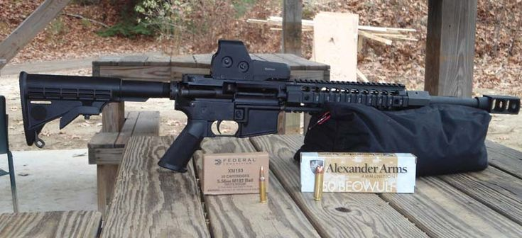 .50 Beowulf AR upper Save those thumbs & bucks w/ free shipping on this magloader I purchased mine http://www.amazon.com/shops/raeind  No more leaving the last round out because it is too hard to get in. And you will load them faster and easier, to maximize your shooting enjoyment.  loader does it all easily, painlessly, and perfectly reliably