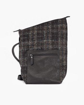 Malloni Maxi leather fabric bag