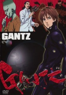 Gantz is awesome anime.The manga is a masterpiece.Kurnonos voice is annoying but equally hilarious.A phycological/action thriller.Check it out!