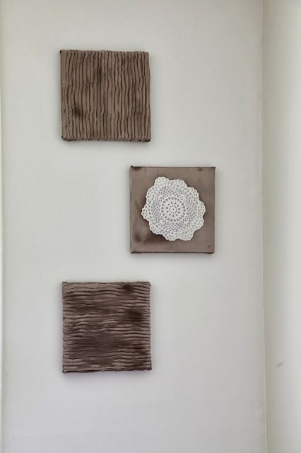 Diy Fabric On Canvas Wall Art : Must see fabric canvas art crafts family