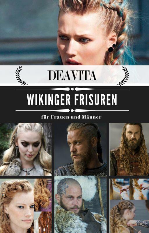 """Sie sind richtige Fans von der Serie """"Vikings""""? Dann lassen Sie sich von den kunstvollen Wikinger Frisuren für Frauen und Männer inspirieren. #hairstyle #frisuren #vikingstyle"""