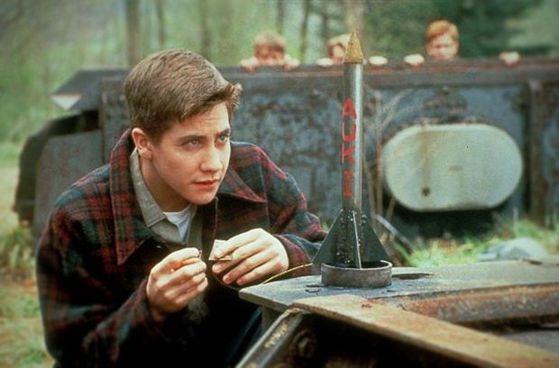 Photo of Jake Gyllenhaal portraying author & West Virginian Homer Hickam in October Sky.  The book Rocket Boys is still going strong after 15 years!