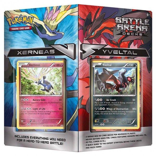 Pokemon - Deck battle arena Xerneas vs Yveltal (anglais) - Castello | Jeux et Jouets