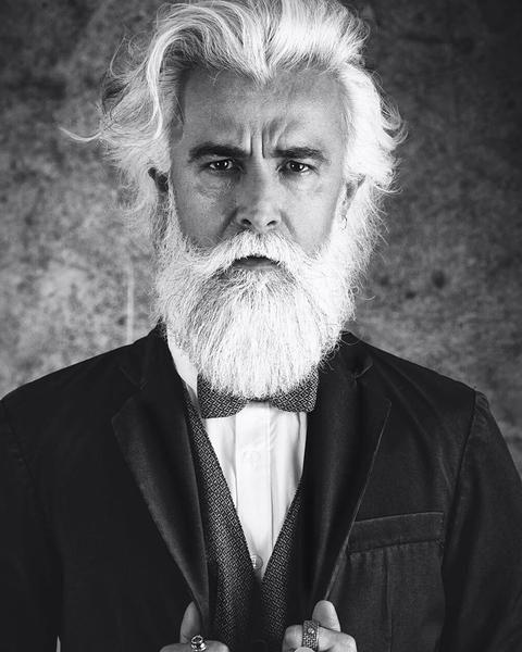 Alessandro Manfredini - Grey Beard - 100 Beards - 100 Bearded Men On Instagram To Follow For Beardspiration