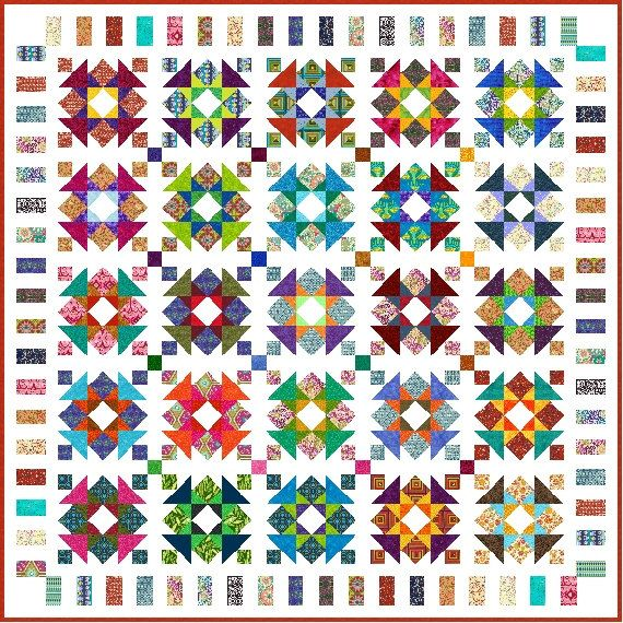 Line Art Quilt Kit : Best images about quilt king size on pinterest square