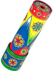 Peer into This Tin Kaleidoscope to See a Rainbow of Colorful Patterns..... I loved mine