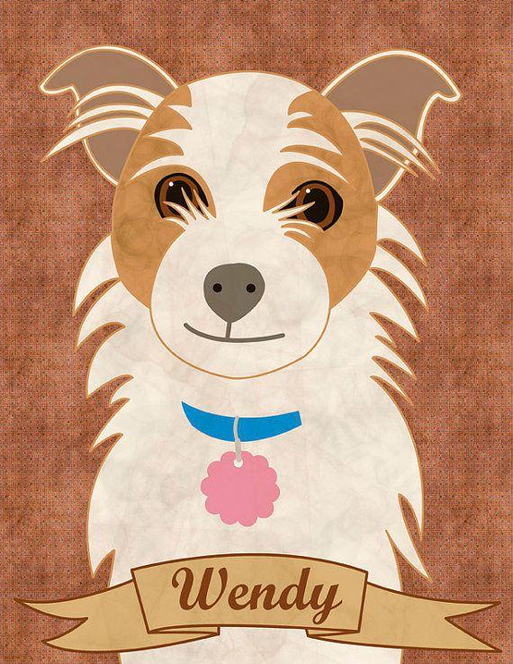 Custom dog portrait custom portrait custom family by catbrush