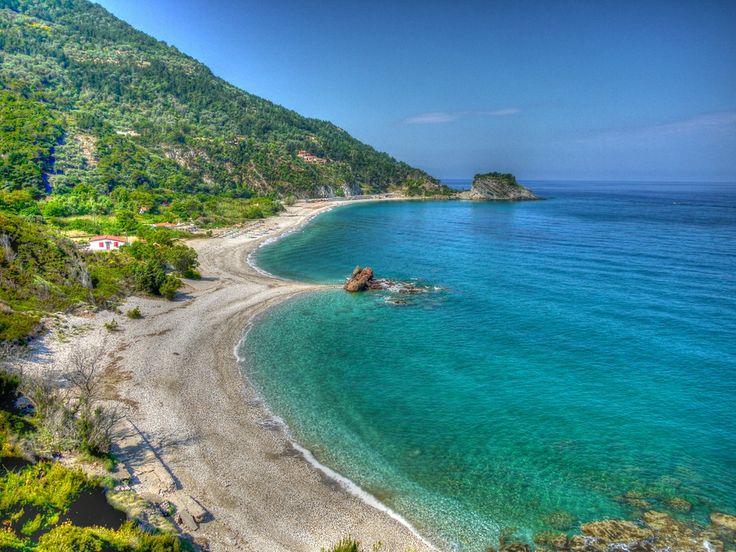 Potami Beach, Samos