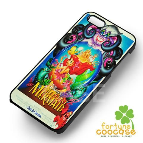 Ariel The Little Mermaid Disney Vintage Poster - 123zz for  iPhone 7+,iPhone 7,iPhone 6S/6S+,iPhone 6/6+,iPhone 5/5S/5SE,iPhone 5C,iPhone 4/4S cases and Samsung Galaxy cases