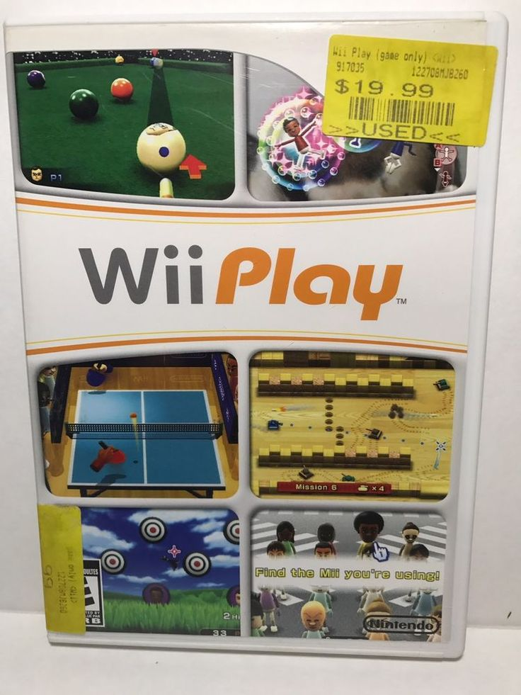 Wii Play Pre Owned    eBay
