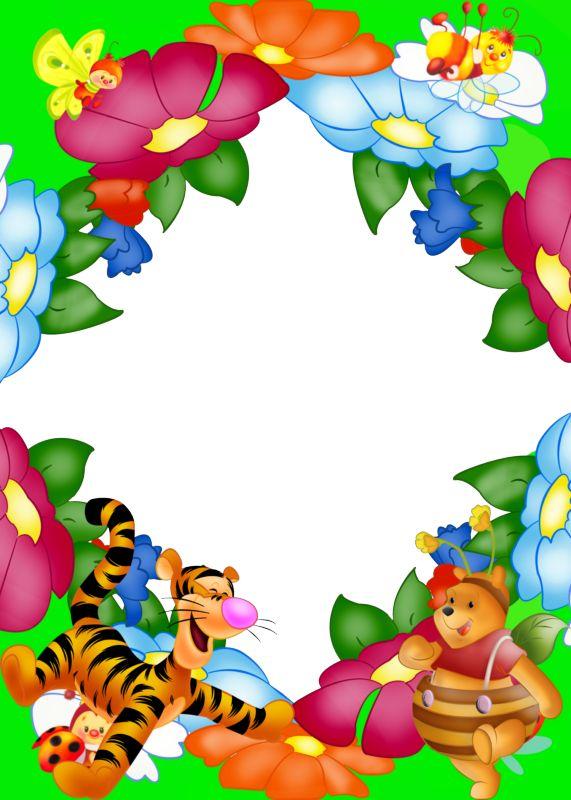 8 delicados marcos para fotos infantiles en png marcos - Marcos para fotos infantiles ...